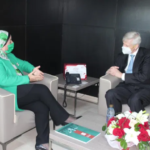 CDC : Boutheina Ben Yaghlane reçoit l'Ambassadeur du Royaume-Uni en Tunisie