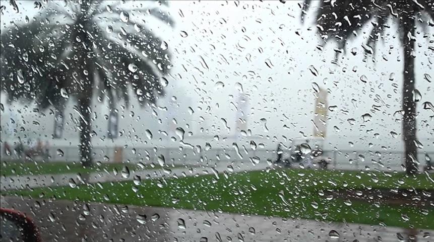 انخفاض نسبي في الحرارة مع أمطار رعدية