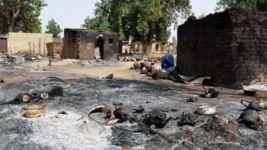 نيجيريا: مسلّحون يهاجمون قرية ويقتلون 16 شخصا