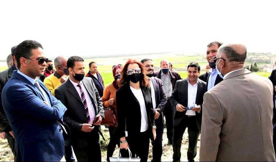 زيارة الوزيرة لسليانة تثمر مركز دولي لألعاب القوى بكسرى