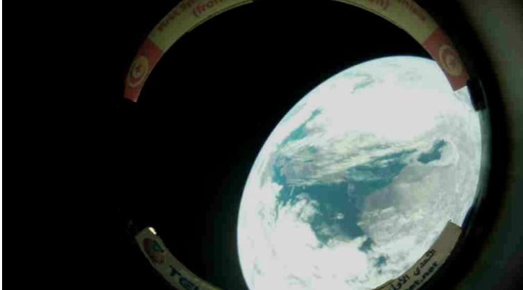القمر الصناعي تحدّي 1: أوّل صورة للكرة الأرضية بعيون تونسية (صور)