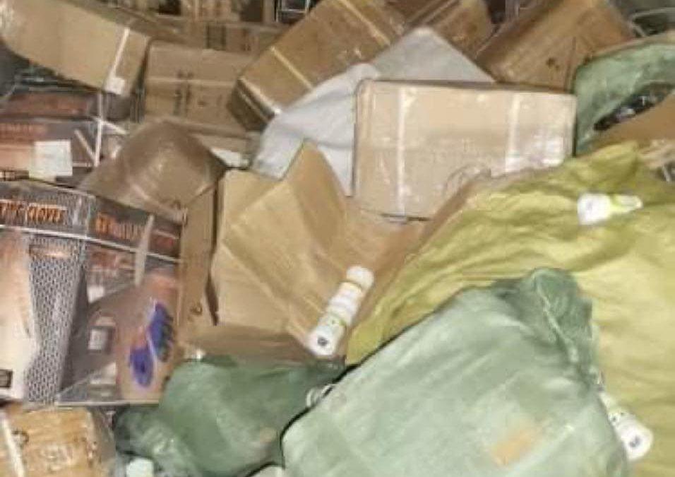 فرقة الحرس الديواني بالفحص تحجز مواد حديدية مهربة و أدوية بيطرية مجهولة المصدر