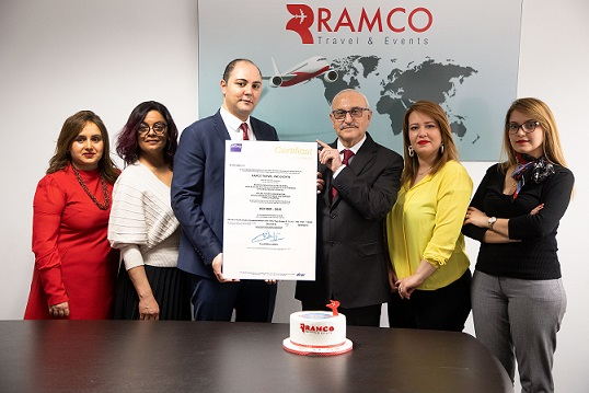 """رامكو ترافل """"  أحدث  وكالة أسفار في تونس حاصلة على شهادة  ISO 9001"""
