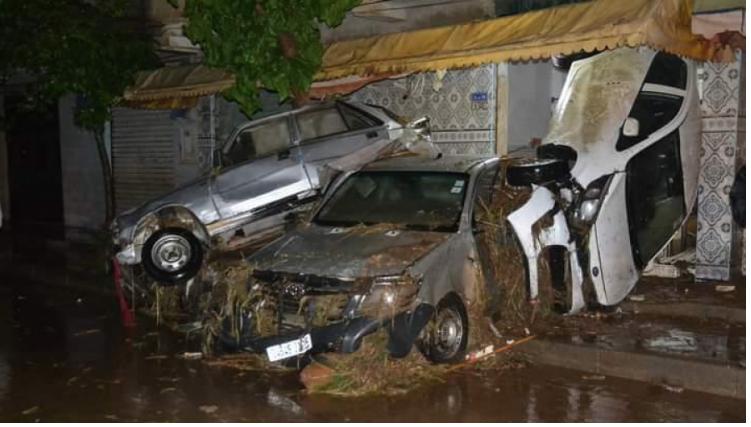 الجزائر: مقتل 6 أشخاص جراء الفيضانات