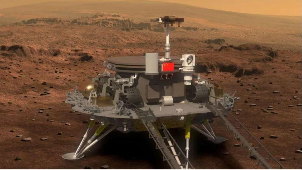 الصين ترفع علمها على متن المرّيخ